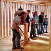 Install Crew for Daniel Johnston's Installation
